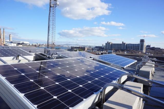 Boston Commercial Solar Panels