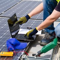 Solar Power Installer Technician