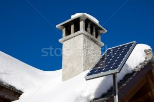 Winter Solar Panels