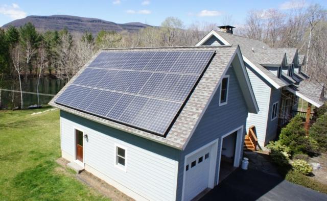 Feinberg Roof Solar Panels