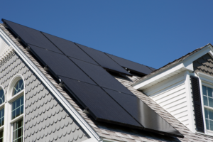 black-solar-panels-on-home